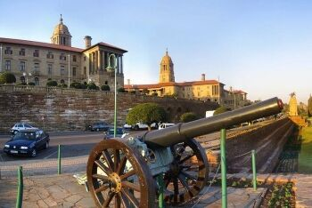 Union Buildings in Pretoria, Tshwane, Gauteng