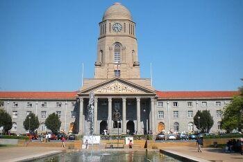 The city hall of Pretoria, Tshwane, Gauteng