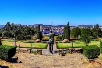 Nelson Mandela Statue at the Union Buildings, Pretoria